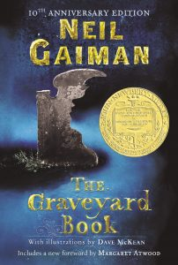 The Graveyard Book by Neil Gaiman Book cover