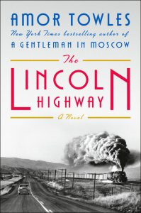 cover art The Lincoln Highway by Amor Towles