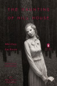 cover art, The Haunting of-Hill-House by Shirley Jackson