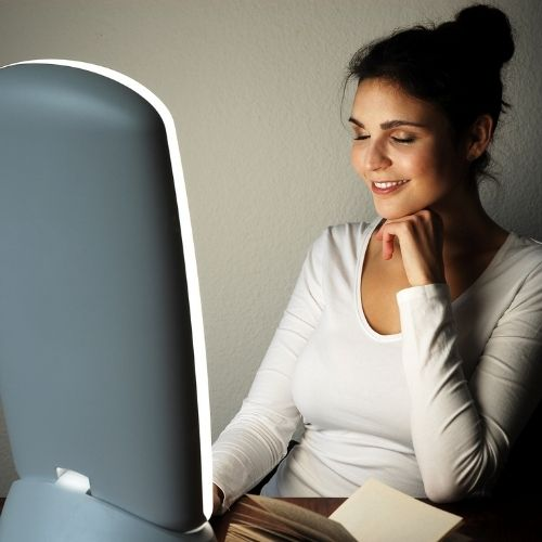 Missing the sunlight? Check out our Light Therapy Lamps